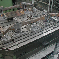 production of a cargo truck undercarriage