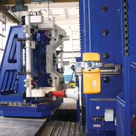 Milling of railway car axle