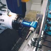 Technological tests of double spindle machining head BENZ