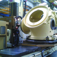 Milling of blade hub for wind turbine