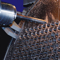 Tube plate drilling