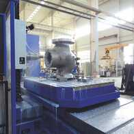 Machining of valve