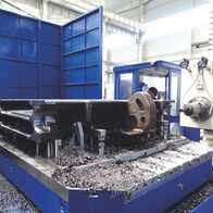 Machining of components (parts, workpieces)