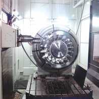 Total machining of the Pelton turbine blades