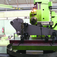 Manufacturing of construction machine arm