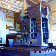 Machining of gear box