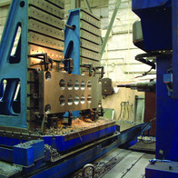 Milling of internal hole surface