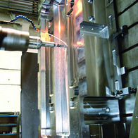 Injection mould milling