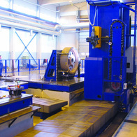 Pressing machine component milling