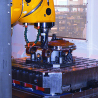 OPTIMA - milling of high-tensile steel segment