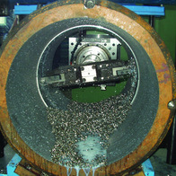 Hole rough machining