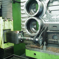 Cover milling and boring