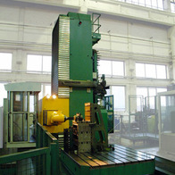 Drilling of segment using HUI 50 head