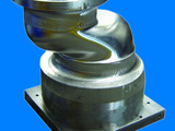 Milling of one-piece deep well pump crankshaft