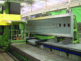 Milling of machine tool beds
